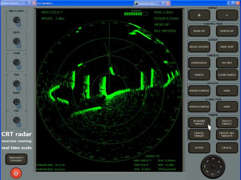 Nautical Software 187 Radar Simulator 187 Pc Software