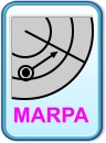 Use MARPA - Mini Automatic Radar Plotting Aid.