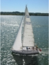 Sample yacht photograph from teaching resources photo album.